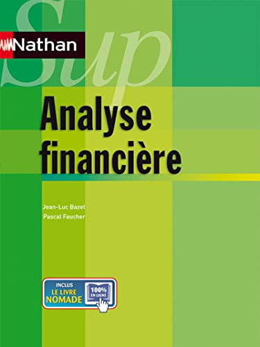 Analyse financière (French Edition): Jean-Luc Bazet
