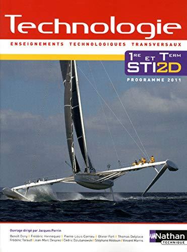 Technologie 1re et Term STI2D : Programme: Jacques Perrin