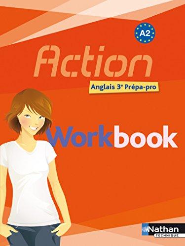 9782091615882: Anglais 3e Prépa-pro A2 Action : Workbook