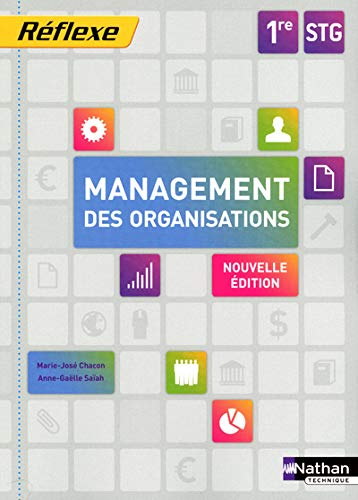 9782091616322: Management des organisations 1e STG (French Edition)
