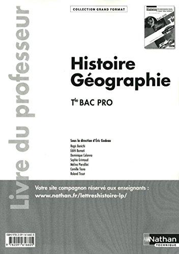 9782091616605: Histoire - G�ographie - Tle Bac Pro
