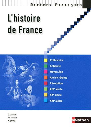 9782091617152: L'histoire de France (Repères Pratiques)