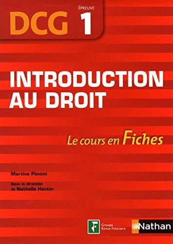 9782091617688: Introduction au droit DCG 1 (French Edition)