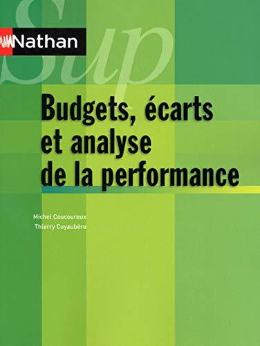 9782091617763: Bugets, �carts et analyse de la performance - contr�le de gestion - Collection Nathan Sup