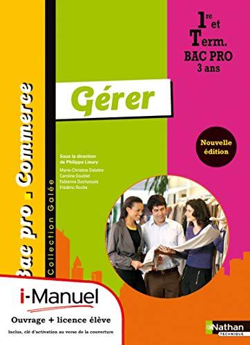 9782091618357: Gérer 1re/Tle Bac Pro Commerce