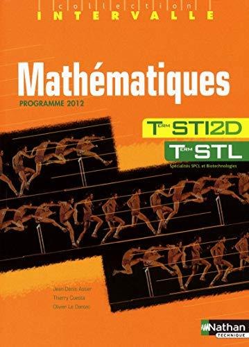 9782091618821: INTERVALLE; mathématiques ; STI 2d, STL