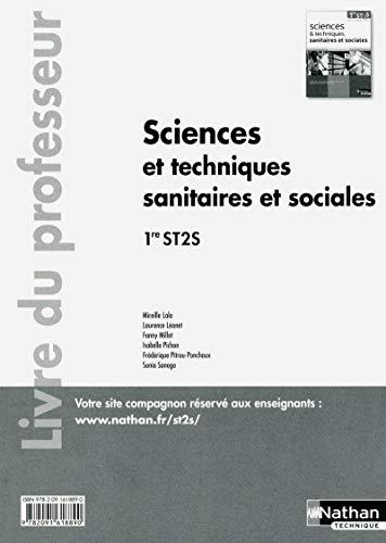 9782091618890: Sciences et techniques sanitaires et sociales - 1re ST2S - livre du professeur
