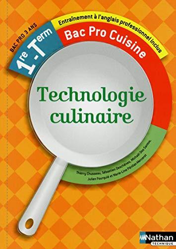 9782091619071: Technologie culinaire - 1re et Term
