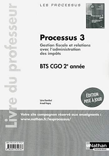 9782091619767: Processus 3 Bts 2 Cgo Professeur 2012