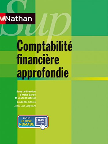 9782091620749: comptabilite approfondie nathan sup 2012