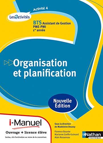 Activité 4 Bts 1 (les Activites) Licence Numerique Eleve I-Manuel + Ouvrage Papier