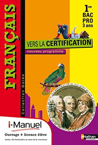 9782091624365: Fran�ais - Vers la certification