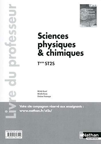 9782091627144: Sciences physiques et chimiques - Tle ST2S - livre du professeur