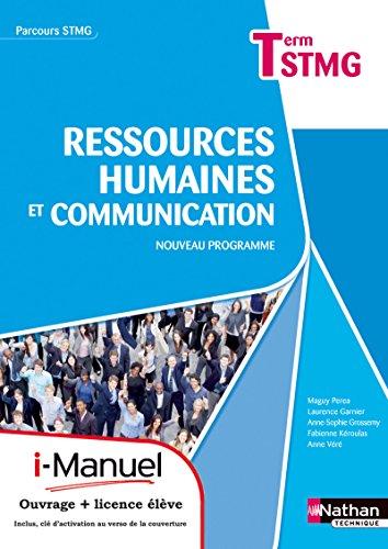 9782091628837: Ressources humaines et communication - Tle STMG