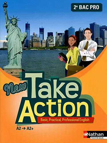 9782091629063: New take action 2e bac pro a2>a2+ - livre eleve 2013