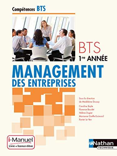 9782091630809: Management des entreprises BTS 1re année