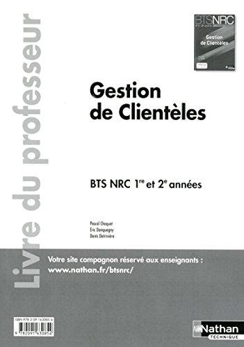 Gestion de Clientèles BTS NRC 1re et 2e années