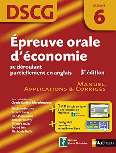 Épreuve orale d'économie se déroulant partiellement en anglais: Arnaud ...