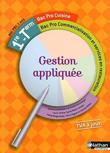 9782091636399: Gestion appliqu�e - 1re/Tle Bac Pro Cuisine - Commercialisation et services en restauration