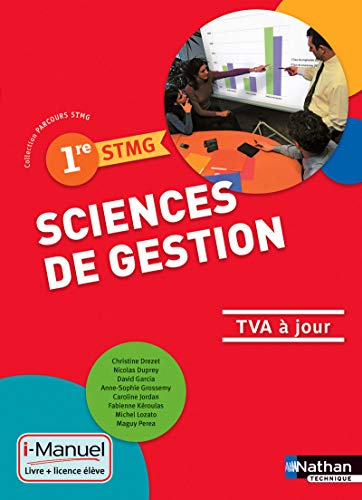 9782091636443: Sciences de gestion - 1re STMG