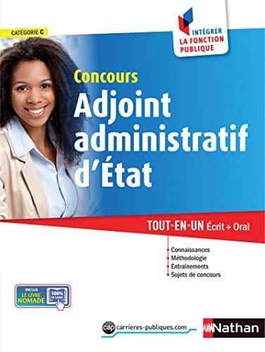 9782091637051: Concours Adjoint administratif d'Etat