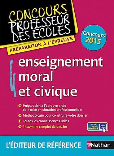 9782091637174: Enseignement moral et civique