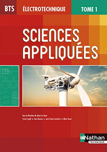 Sciences appliquées - Tome 1