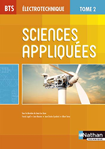 BTS Électrotechnique : Sciences appliquées, Tome 2: Jean-Luc Azan; Franck