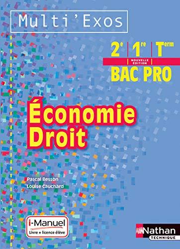 9782091637426: Economie - Droit 2e/1re/Tle Bac Pro
