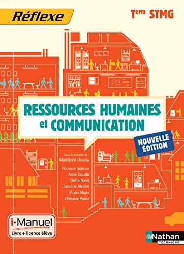 9782091637600: ressources humaines et communications ; terminale STMG ; livre + licence élève (édition 2015)