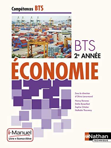 Economie BTS 2e annee (competences bts) livre + licence eleve 2015: Collectif