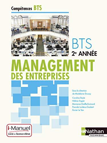 9782091637709: Management des entreprises BTS 2e année