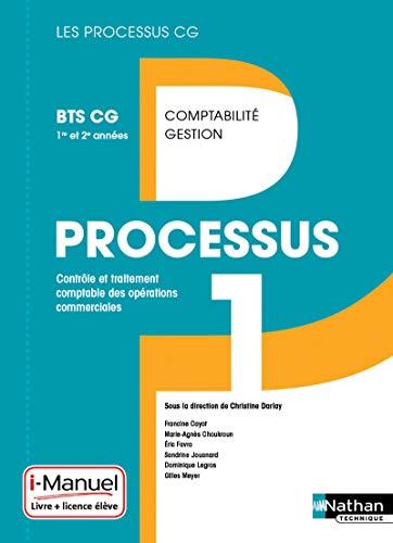 processus 1 ; BTS CG 1ère et 2e année ; livre + licence de l'élève...