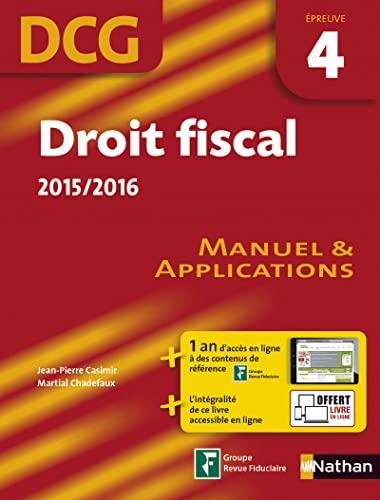 9782091638621: Droit fiscal 2015/2016