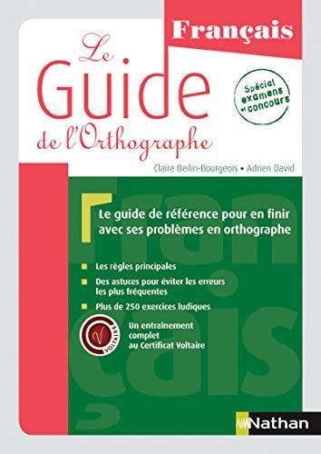9782091638805: Le Guide de l'orthographe
