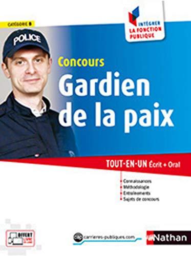 9782091638997: Concours Gardien de la paix