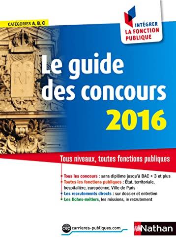 9782091639062: le guide des concours 2016