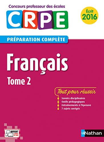 français t.2 ; épreuve écrite (édition 2015): Collectif