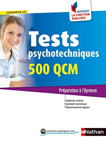 9782091639345: Tests psychotechniques - 500 QCM