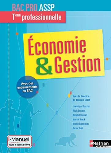 9782091640143: Economie-Gestion Tle Bac Pro ASSP