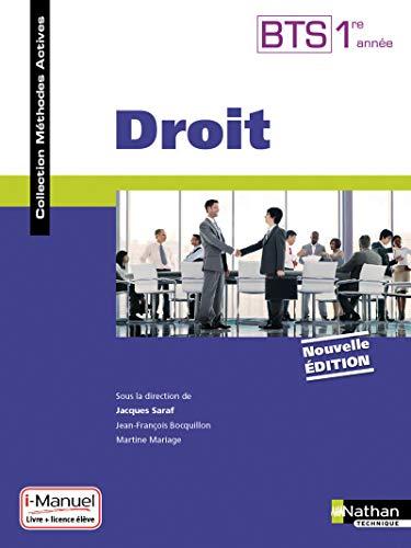 9782091640457: Droit - BTS Tertiaires 1re année