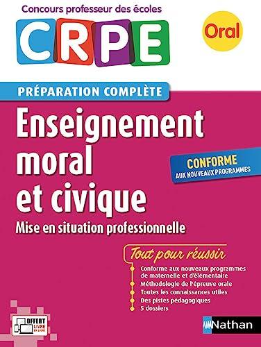 Enseignement moral et civique - Préparation à: de Nadai, Anne,