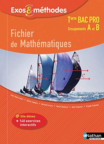 9782091648989: Fichier de Mathématiques Tle Bac Pro Groupements A et B