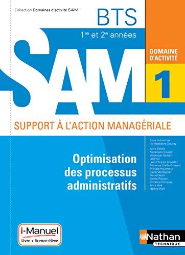 9782091650395: Domaine d'activité 1 - Optimisation des processus administratifs