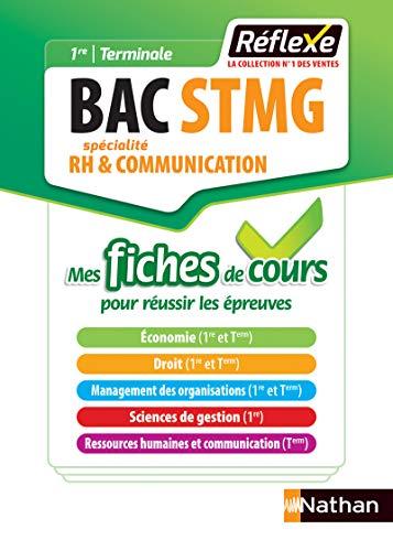 9782091651460: Ressources humaines et communication - Mes fiches de cours - 1re/Tle Bac STMG - Bac 2020