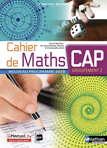 9782091653648: Cahier de Maths - CAP Groupement 2