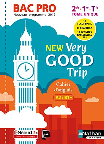 9782091654430: New Very good trip - Anglais Bac Pro - Niveau A2B1+