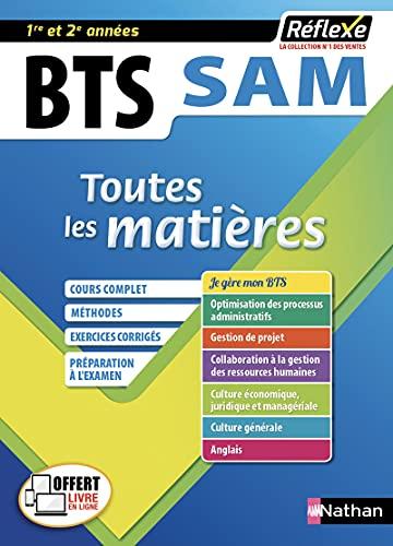 9782091654768: BTS SAM - Support à l'action managériale - Toutes les matières (09)