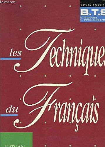 9782091706788 Les Techniques Du Francais Bts Livre Du