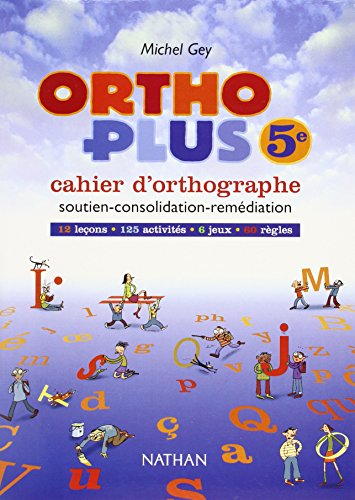 9782091711546: Ortho Plus - 5eme - Cahier D'orthographe (French Edition)